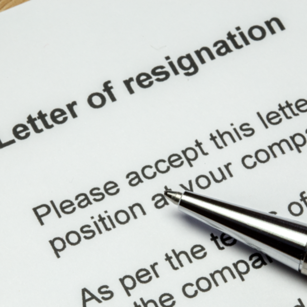 Rlm What Should You Include In Your Resignation Letter Ft